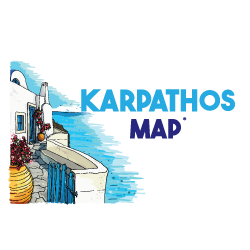 Karpathos Map – by MasterFold S.A Λογότυπο